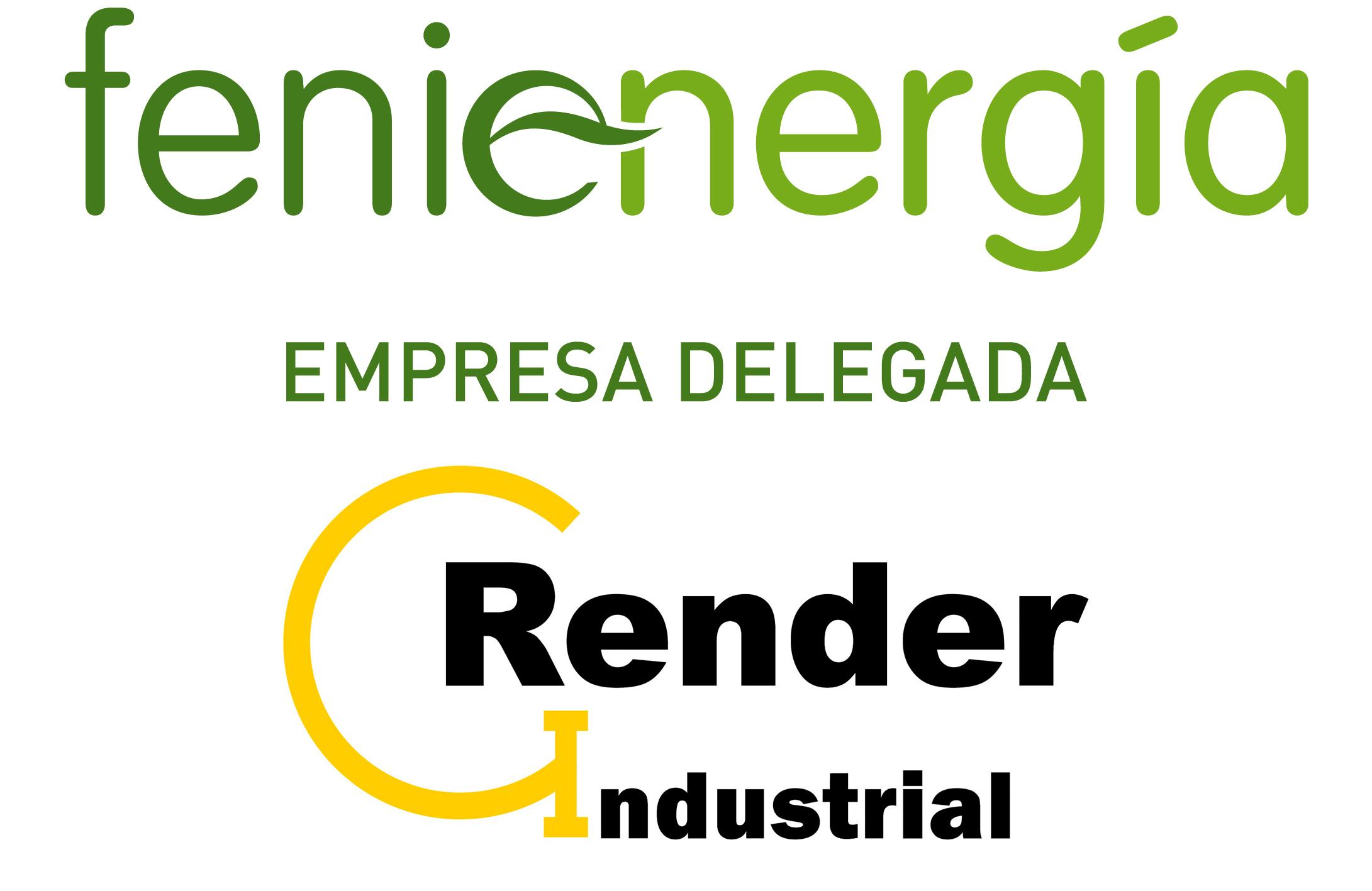 GRUPO RENDER INDUSTRIAL Y MONTAJES S.L. como empresa delegada de la comercializadora FENIE ENERGíA