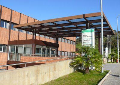 Construcción de la Unidad de Cuidados Críticos Polivalentes. Hospital del Campo Arañuelo. Navalmoral